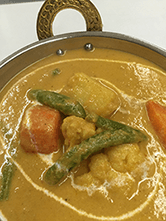 野菜カレー(vegetable curry)